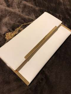 White Colette Purse/Clutch