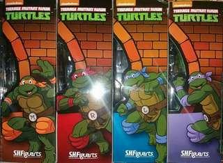 Ninja Turtles Set Collectible Figures