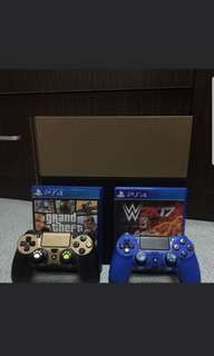 Ps4 1006a with gta 5 game and 1 controller
