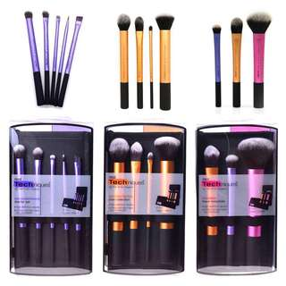Real techniques brushes from Official website