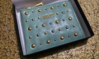 Anna Sui 全新湖水綠散子卡片包