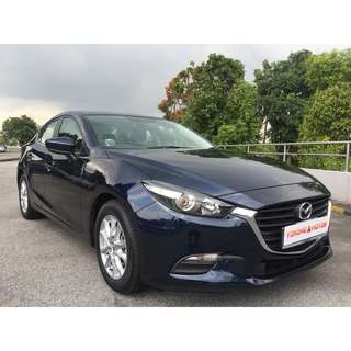 Mazda 2017 Mazda 3 1.5A for Rent $320/Week