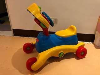 【Vtech】3合1多功能智慧學習車(快樂兒童首選玩具)