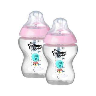 Tommee Tippee Closer to Nature Decorated Bottles 9oz