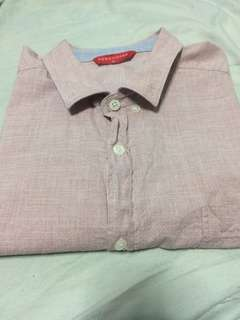 Penshoppe Short Sleeve Shirt (Medium)
