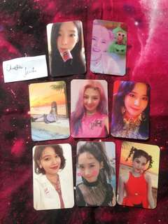 Girls Generation SNSD Holiday & All Night Photocard Set