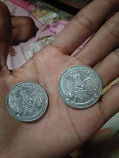 Uang koin INDONESIA RP 5 Sen
