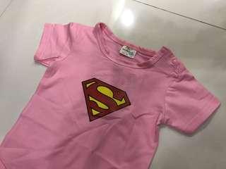Baby Supergirl Costume/ Cloth/ Romper/ Superhero