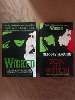 Wicked Years Series by Gregory Maguire