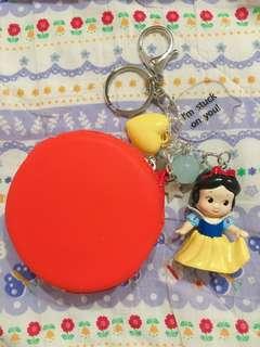 🚚 白雪公主吊飾零錢包