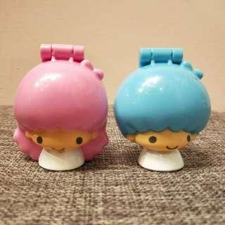 日本 kikilala 雙子星 玩具 盒子 sanrio 三麗鷗 麥當勞 日系 日版 絕版 收藏
