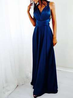 BNWT Multiway Navy gown/dress