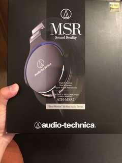 Audio-technica ATH-MSR7 鐵三角頭戴式耳機