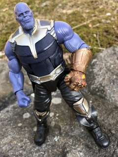 "MEGA SALE! VERY VERY RARE & HOT! LAST PIECE!! New Hasbro Marvel Legends Avengers Infinity War BAF Complete Thanos 6"" Figure For SALE!!"