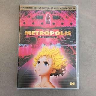 Ozamu Tezuka's Metropolis DVD