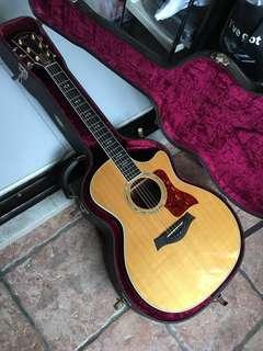 1997 Taylor 814CE Guitar