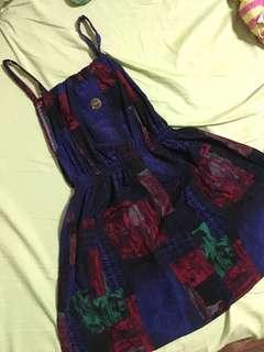 古著花洋裝