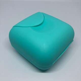 Blue Small Travel Soap Holder / Case / Box