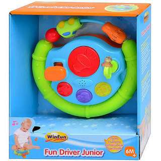 Mainan Bayi WINFUN FUN DRIVER JUNIOR