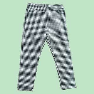 Gingham trousers/jeggings
