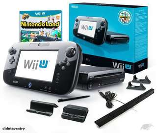 Wii U very new in good condition no box with one extra controller