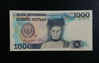 Indonesia Currency 1987 (Self Collect @Blk 113 J.E. St. 13, 600113)