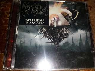 Music CD (Metal, 2xCD): Konkhra ‎– Nothing Is Sacred - Death Metal, Thrash Metal