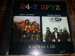 Music CD: 24-7 Spyz ‎– This Is...24-7 SPYZ / Strength In Numbers - Funk Metal, Heavy Metal