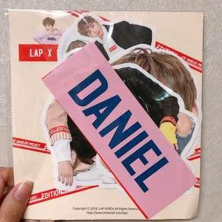 Kang Daniel Lap代言貼紙一套 姜丹尼爾 Wanna One
