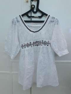 Baju Putih Cewek