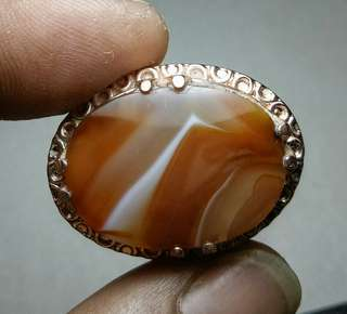 Cincin Batu Sulaiman Kristal Motif Unik