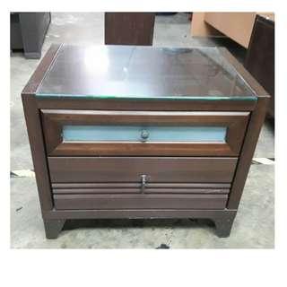 【172二手傢俱】B487二手棕色床頭邊櫃,中古棕色床頭邊櫃,二手家具,中古家具