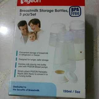 Pigeon Breast milk Storage Bottles