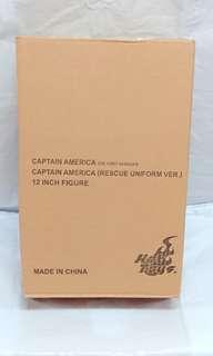 全新 Hot Toys 美國隊長 Captain America (Rescue Uniform Version) 2012年動漫節限定版