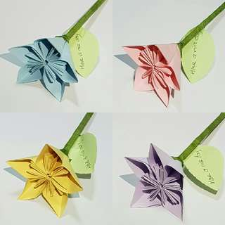 Flower Origami per #Payday30