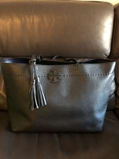 Tory Burch cow leather tote bag