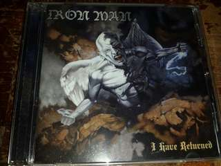 Music CD: Iron Man ‎– I Have Returned - Doom Metal