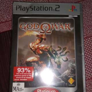 Ps2 PAL god of war