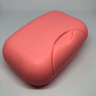 Light Pink Regular Travel Soap Holder / Case / Box