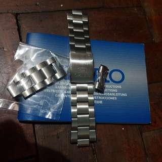 Authentic Seiko 5 Metal Band 22mm