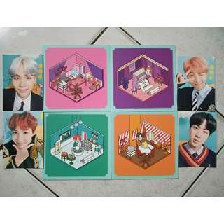BTS 4TH MUSTER PHOTO BINDER PHOTOCARD AND POSTCARD