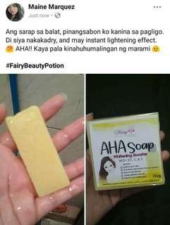 Aha soap at serum