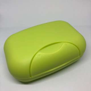 Green Regular Travel Soap Holder / Case / Box