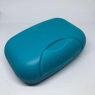 Blue Regular Travel Soap Holder / Case / Box