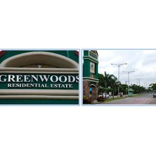 120sqm Residential Lot GREENWOODS Executive Village Pasig City