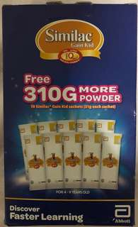 Similac stage 4 (10 sachets *31g)