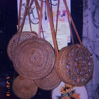 Rattan Bags (Ata Bags made in Bali)