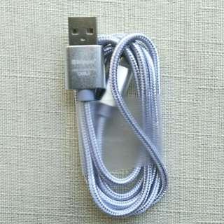 新科不易扯斷手機充電線 micro usb cable android Shinco