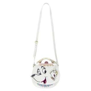 [PO] Disney Mrs. Potts Saddle Bag by Danielle Nicole - Beauty and the Beast