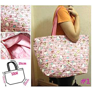 Hello Kitty large tote bag